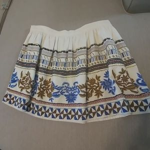 Zara Beaded Mini Skirt size M